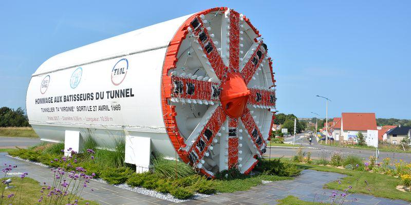 Tunnelier Coquelles