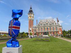 L'Hôtel de ville et les 6 Bourgeois de Calais